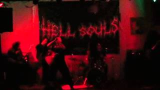 Video Hell Souls - frosty silence / live Svidnik /