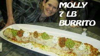 Girl Eats A 7 Pound Burrito In 3 Minutes