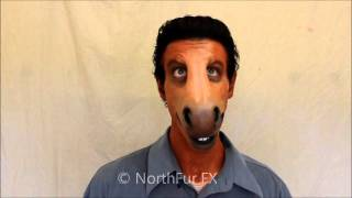 Foam Latex Large Horse - Donkey Muzzle Prosthetic Mask