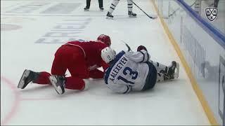 Алексеев получает травму после жуткого столкновения