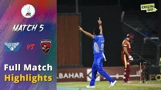APL 2018 M5: Balkh Legends v Kandahar Knights Full highlights - Afghanistan Premier League