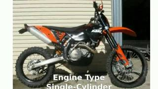 3. 2008 KTM EXC 450 Sixdays - Engine, Specification - traciada