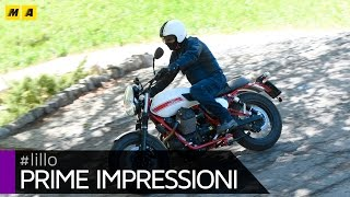 9. Moto Guzzi V7 Stornello [ENGLISH SUB]