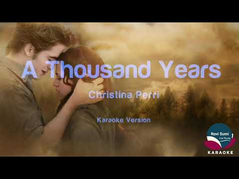 Christina Perri- A Thousand Years Karaoke