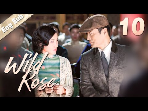[ENG SUB] Wild Rose 10 | Romantic suspense drama, Eye-candy agents