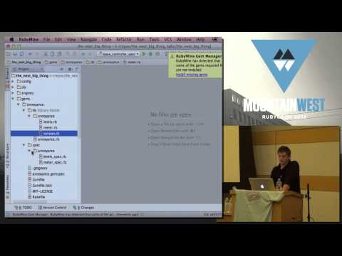 MountainWest RubyConf 2013 Component-based Architectures in Ruby and Rails by Stephan Hagemann (видео)