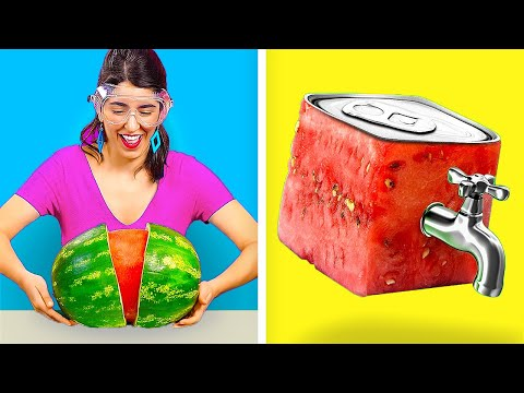 STUNNING HACKS FOR YUMMY MEALS! || Funny Food DIYs by 123 Go! Genius