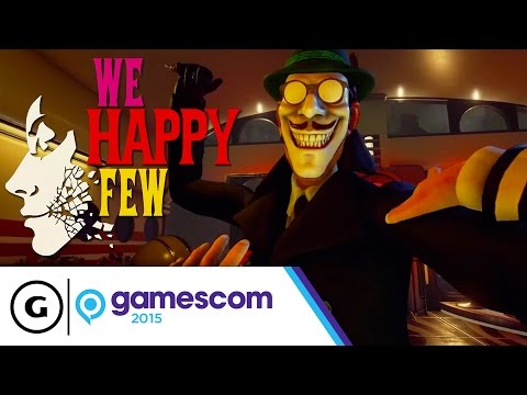 We Happy Few - Gamescom 2015 Trailer