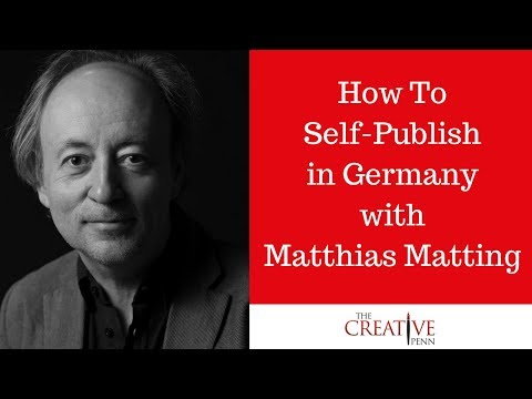 How to self-publish in Germany with Matthias Matting