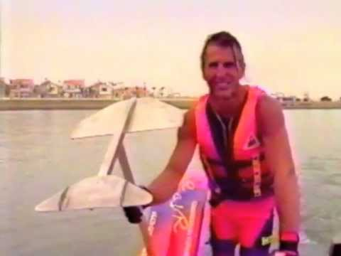 airchair - The world's best hot dog water skiers during a video shoot: spring, 1992. In this ride Mike Murphy demonstrates his skills as 1992's #1 hydrofoiler, and co-i...