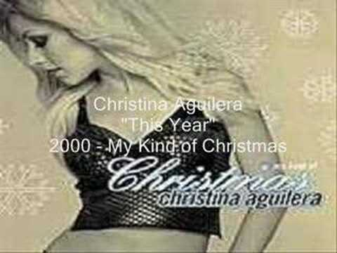 Christina Aguilera - This year lyrics