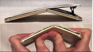 Iphone 6 Plus bend test using bare hands TOTAL DESTRUCTION - YouTube