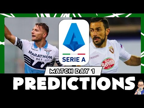 Serie A 2019/20  - Matchday 1 Predictions