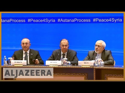 🇸🇾 Russia, Iran and Turkey hold more Syria talks in Astana | Al Jazeera English