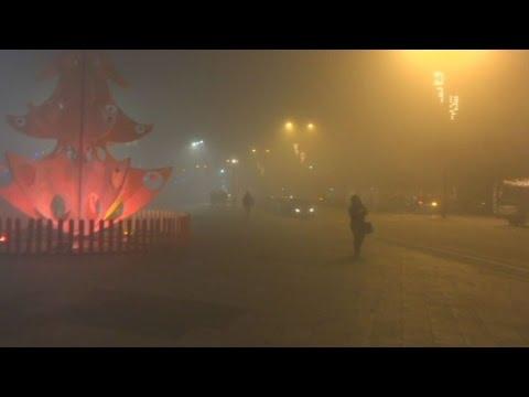 Η αιθαλομίχλη πνίγει τα Ιωάννινα