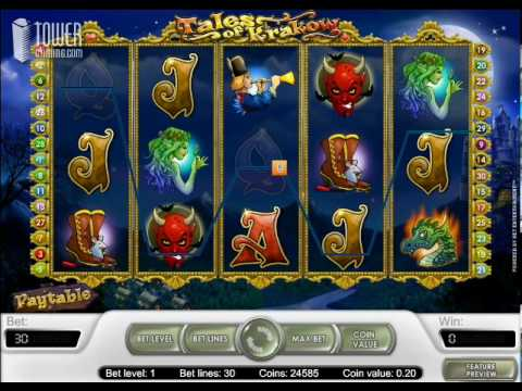 Tales of Krakow Slot - Tower Gaming