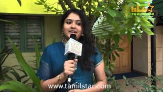 Playback Singer Latha Krishna Interview for Dhanush 5aam Vaguppu
