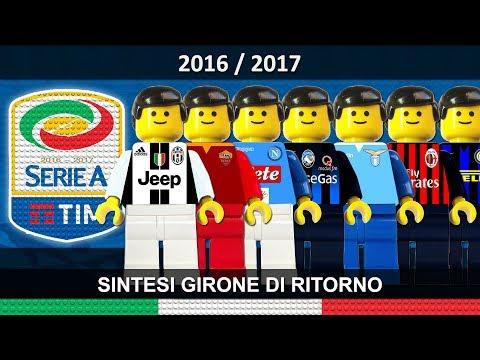 Serie A 2016/17 Sintesi e Goal Campionato 2017 Lego Calcio • Ritorno • Film Lego Football Highlights