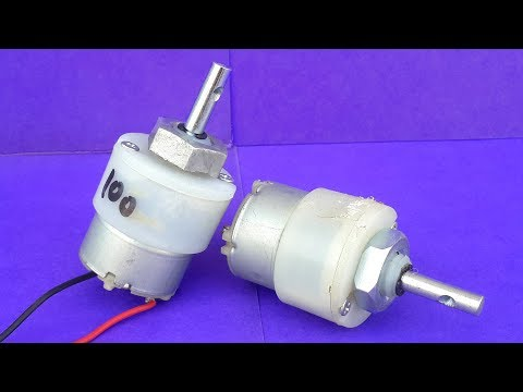 3 Amazing DIY Ideas from DC Geared Motors
