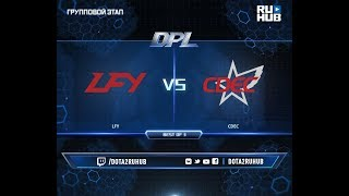 LFY vs CDEC, DPL 2018, game 2 [Mila, Eiritel]