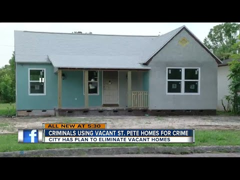 Vacant homes still a problem in St. Pete despite improvements