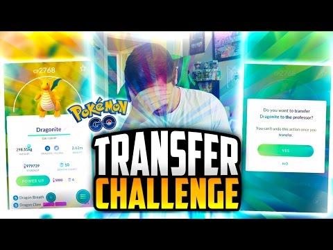 Pokemon Go - TRANSFERRING MY BEST POKEMON (MY DRAGONITE....)