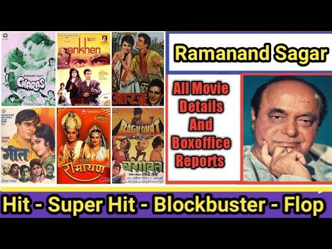 Director Ramanand Sagar Box Office Collection Analysis Hit And Flop Blockbuster All Movies List