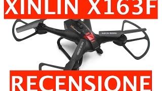 Video: Recensione Xinlin X163F Drone Quadricottero ...