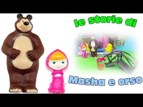 Episodio completo cartone con puppazzi e personaggi di masha e orso. Simpatico video dei racconti di masha con i personaggi del cartone. Episodio e storia in italiano