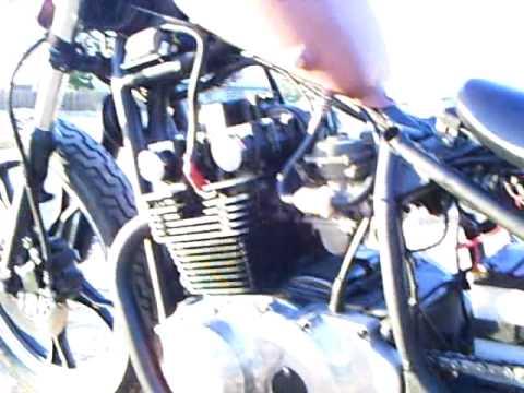 0 1980 suzuki gs450 bobber videos custom bike com Brat Style Suzuki GS 450L at bakdesigns.co