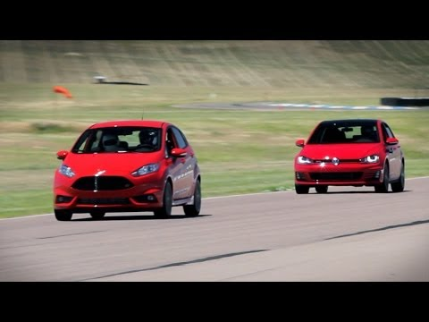 Fiesta ST or GTI, which is better on the track? -- Everyday Driver