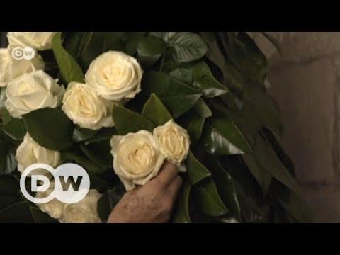 Girona im Blumenmeer - Kunstinstallationen beim