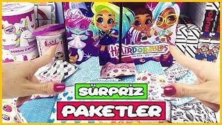 Sürpriz Oyuncak Paketleri Barbie Kıyafetleri, LOL Bebek ve Rainbow Slaym Dila Kent