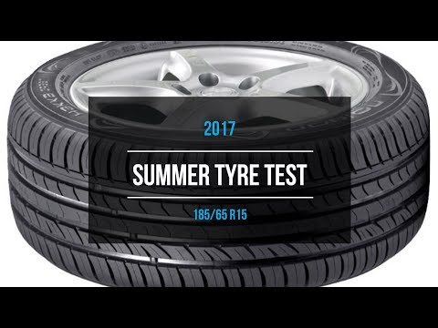 2017 Summer Tire Test Results | 185/65 R15