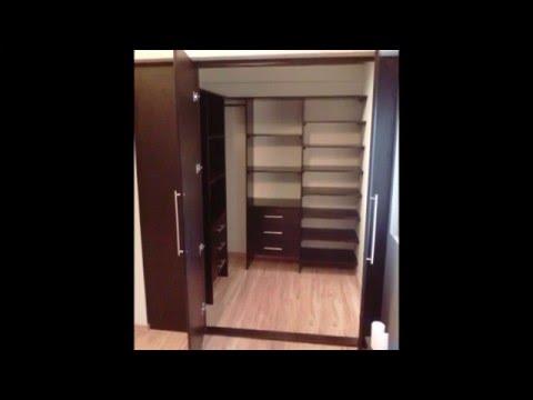 Roperos modernos df videos videos relacionados con for Closets minimalistas df