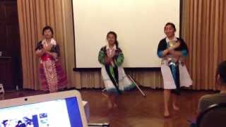 Association of Hmong Students at UCLA | Freshmen Hmong Dance 2012-2013