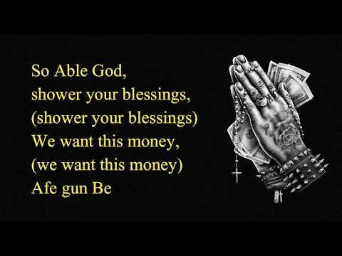Chinko Ekun ft Lil Kesh, Zlatan - Able God (Official Video Lyrics) HD