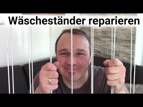Wascheständer reparieren Badewannentrockner reparieren