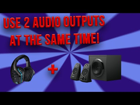 Use 2 Audio Outputs on Windows 10/8/7 (Realtek Sound Devices) 2020 Updated Video