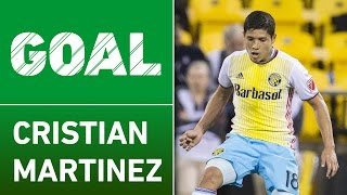GOAL: Cristian Martinez scores in his Columbus debut by Major League Soccer