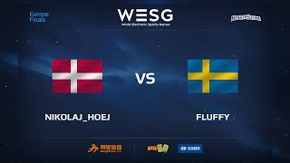 hoej vs Fluffy, game 1