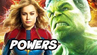 Download Video Captain Marvel is Most Powerful Avenger in Infinity War Explained MP3 3GP MP4