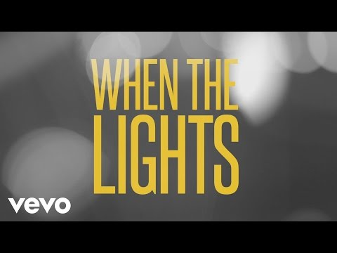 Lights Come On Lyric Video