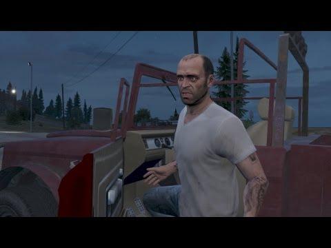 Прохождение Grand Theft Auto V (GTA 5) — Концовка: Тревор (видео)