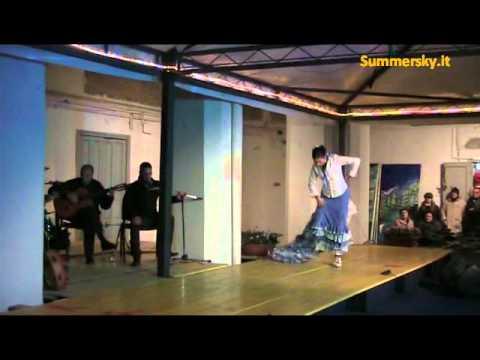 Tammorra e Flamenco di Dominga Andrias e la sua compagnia - Seconda Parte