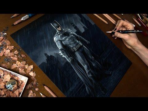Drawing Batman