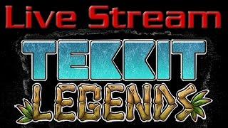 -•- LIVE STREAM -- Minecraft Survival: Tekkit Legends -- LIVE STREAM -•-