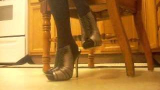 Heel Tapping, Heels, High Heels, Stockings, Dancing