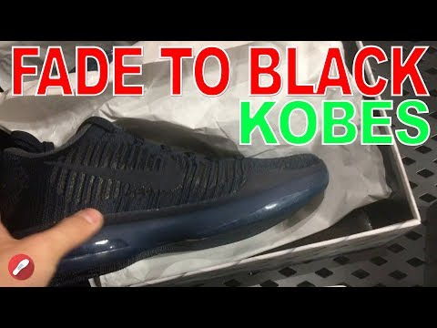 VLOG #62 NEW NIKE STORE WITH FADE TO BLACK KOBES!