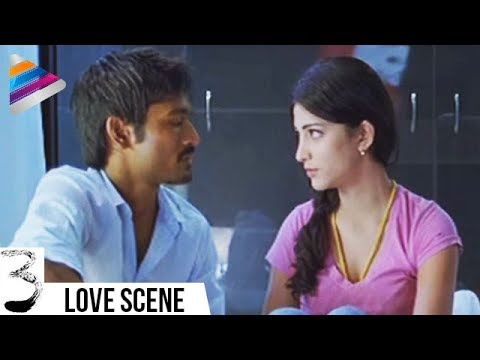 Video Dhanush and Shruti Haasan First Night | 3 Movie Movie Scenes | Anirudh | Telugu Filmnagar download in MP3, 3GP, MP4, WEBM, AVI, FLV January 2017